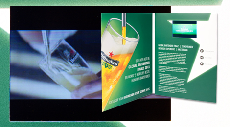 Video brochure / video in print